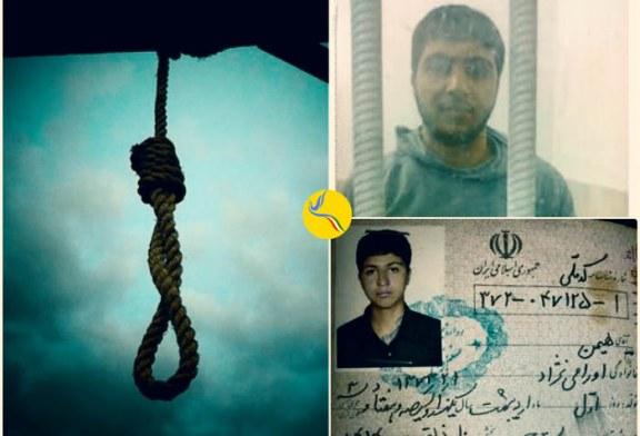 هشدار قریب الوقوع بودن اعدام یک کودک-متهم در زندان سنندج