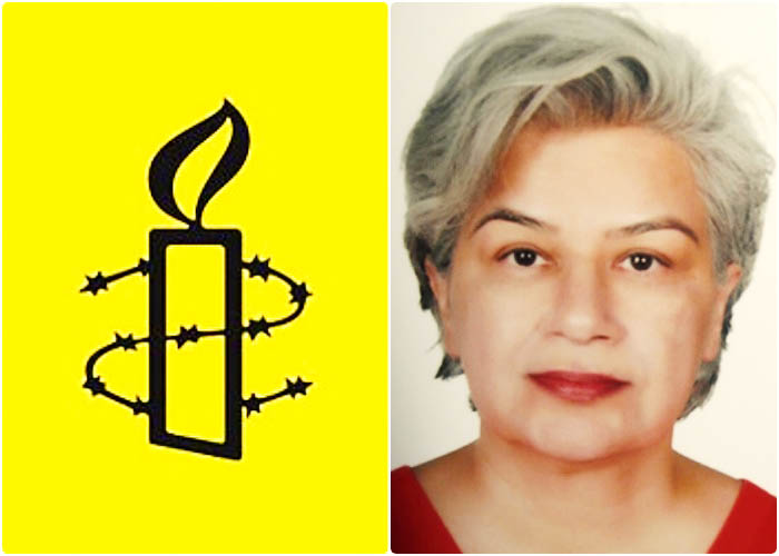 هشدار عفو بین الملل در خصوص خطر زندانی شدن منصوره بهکیش