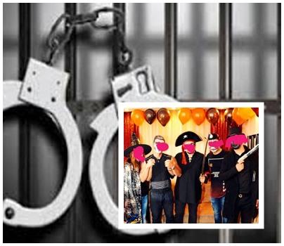 دستگیری ۱۷ دختر و پسر در مهمانی هالووین تهران