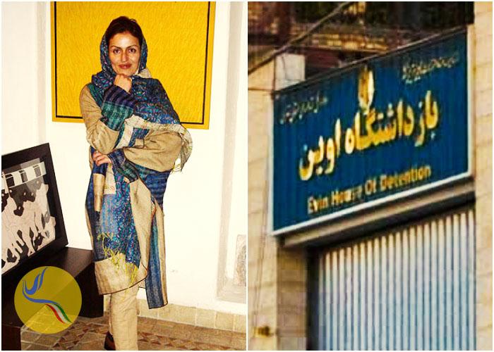 پس از پنج ماه بازجویی؛ انتقال آفرین نیساری به بند نسوان زندان اوین