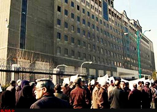 برگزاری دو تجمع اعتراضی در مقابل مجلس