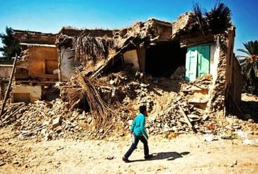 تخریب منازل مردم در زاهدان از سوی نیروی انتظامی