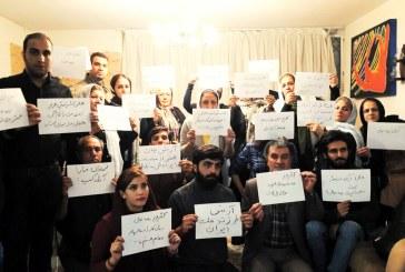 """""""به امید آزادی ایران""""؛ تماس تلفنی آرش صادقی با تعدادی از فعالان مدنی/ ویدیو"""