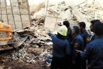 جسد کارگر کشته شده در گودبرداری غیراصولی در شیراز پیدا شد