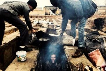 مسئولان شهر ضمن ضرب و شتم، گورخوابها را از گورستان بیرون راندند