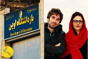 تحصن زندانیان بند نسوان اوین در اعتراض به ممانعت از ملاقات گلرخ ایرایی و آرش صادقی