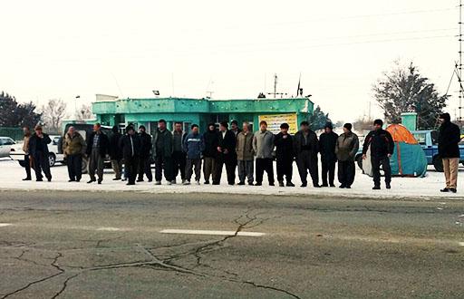 ادامه اعتراضات صنفی کارگران مجتمع کشت و صنعت مهاباد؛