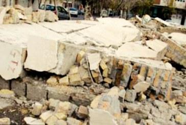 فرو ریختن دیوار یک مدرسه ابتدایی در سمیرم اصفهان روی دانشآموزان