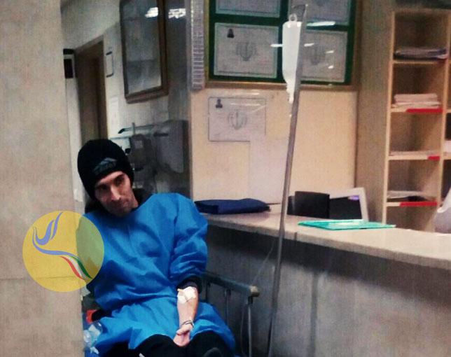 علیرغم نظر پزشک متخصص، ماموران سپاه آرش صادقی را به زندان منتقل کردند