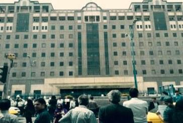تجمع اعتراضی فرهنگیان بازنشسته مقابل مجلس