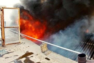 مرگ دو کودک کار در آتش گاراژ جمع آوری ضایعات