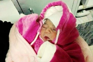 کشف نوزاد یک روزه در سطل زباله در خمین
