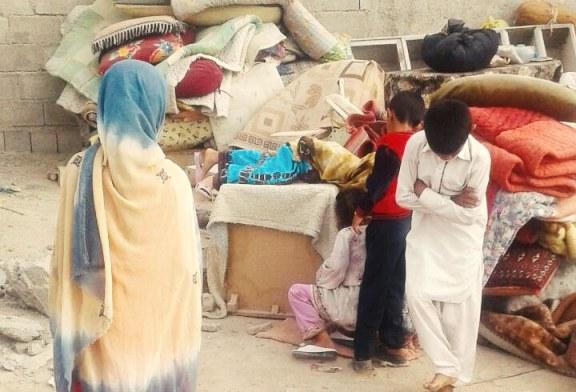 تصاویری از تخریب منازل مردم توسط مسئولین شهرداری در زیبا شهر چابهار