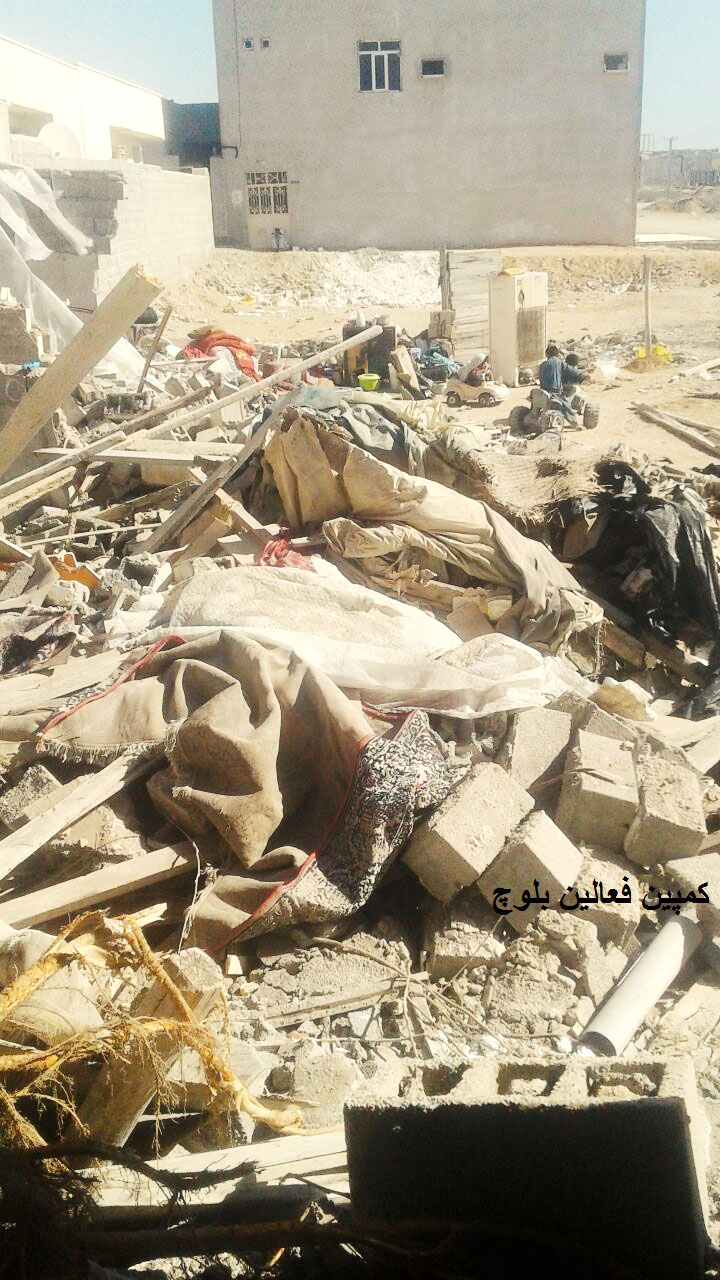ه تخریب منازل شهروندان ۲