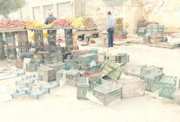 بازداشت شماری از دستفروشان از سوی نیروی انتظامی شهر اهواز