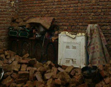 ریزش سقف ۱۰۰ منزل در شهرستان خاش براثر بارندگی