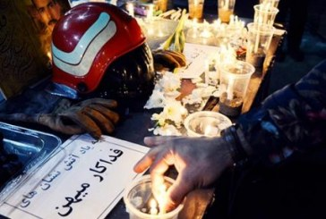 پلیس تبریز: روشن کردن شمع به یاد آتشنشانان حادثه پلاسکو در تبریز مجوز قانونی نداشت