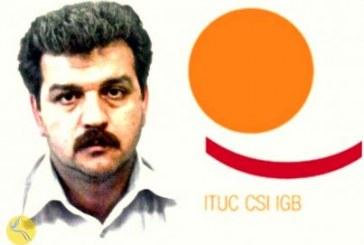 ابراز نگرانی کنفدراسیون بینالمللی اتحادیههای کارگری از بازگشت رضا شهابی به زندان