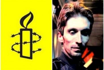 عفو بینالملل: جلوگیری از دسترسی فوری آرش صادقی به رسیدگی پزشکی «مصداق شکنجه» است