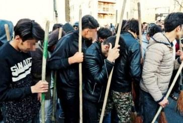 نمایش و تحقیر دستگیرشدگان چهارشنبهسوری پیش از محاکمه / تصاویر