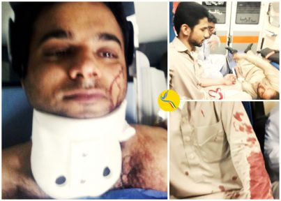 تیراندازی نیروی انتظامی به پنج دانشجو در خاش