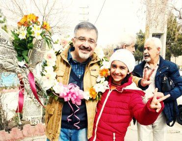 مهدی معتمدی مهر از زندان رجایی شهر آزاد شد
