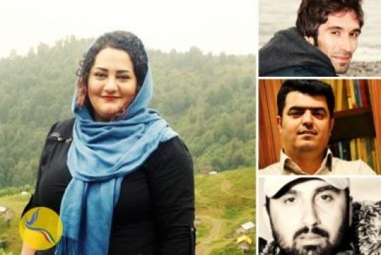 اعلام حمایت سه زندانی سیاسی بند ۳۵۰ اوین از اعتصاب غذای آتنا دائمی