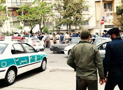 تجمع مالباختگان موسسه کاسپین مقابل وزارت کشور/ تصاویر