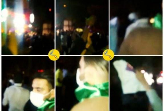 درگیری میان حامیان حسن روحانی و ابراهیم رئیسی در شهرهای مختلف با دخالت نیروهای انتظامی