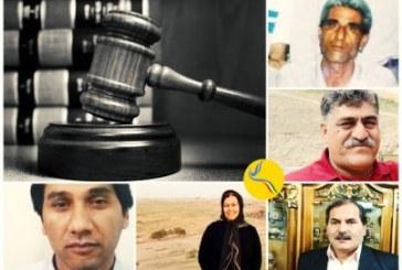 صدور حکم حبس و تبعید برای شش فعال سیاسی و مدنی در اندیمشک