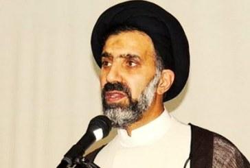 امام جمعه ساوه: «نماد شال سفید، سبز و بنفش مانند پرچم روسپیگری است»