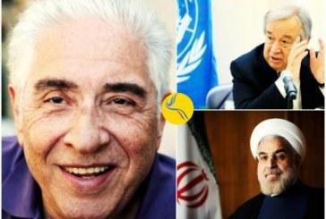 دبیر کل سازمان ملل متحد در نامهای به حسن روحانی خواستار آزادی باقر نمازی شد