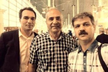 جلوگیری از خروج رضا شهابی و داود رضوی در فرودگاه امام خمینی