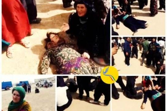 حمله مأموران به تجمع کارگران اخراج شده معدن طلای آق دره