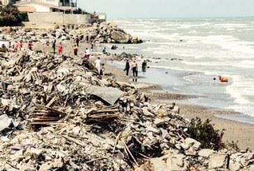 آلودگی شدید ۱۲ شناگاه در مازندران