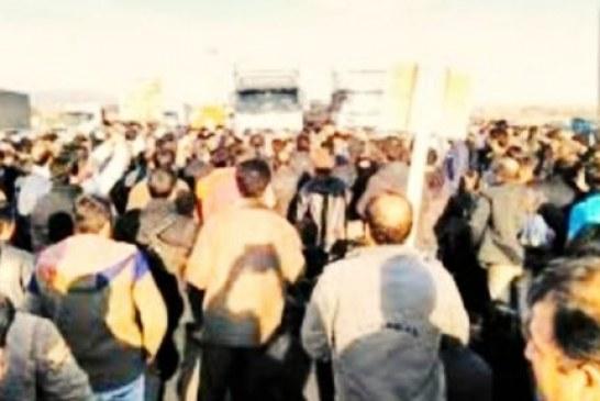 راهپیمایی صدها کارگر کارخانه هپکو در شهر اراک در پی تأخیر در پرداخت مطالبات