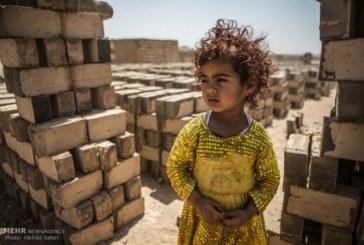 خشت های کودکی؛ کودکان کار کوره های آجرپزی / گزارش تصویری