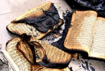 بازداشت یک زن به اتهام آتش زدن قرآن