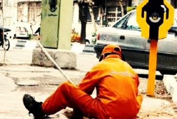 پیمانکار شهرداری کرج رفتگر مصدوم خود را بدون پرداخت خسارت اخراج کرد