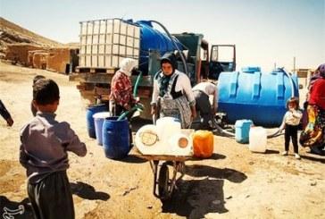 تامین آب ۹۵ روستا با تانکر در شهرستان اردستان
