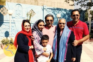 آزادی کیوان رحیمیان، شهروند بهایی، از زندان رجایی شهر/ تصاویر