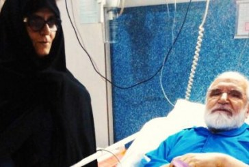 مهدی کروبی به بیمارستان رجایی منتقل شد