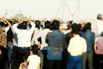 اعدام یک زندانی در ملأعام در نصرآباد اصفهان