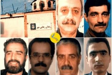 تداوم نگهداری «شش زندانی سیاسی در اعتصاب غذا» در سلولهای انفرادی زندان رجایی شهر