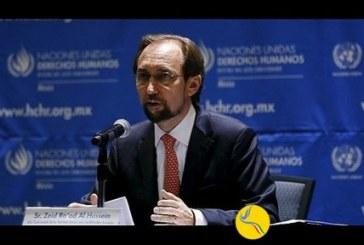 کمیسر عالی حقوق بشر سازمان ملل باردیگر نقض حقوق بشر در ایران را محکوم کرد
