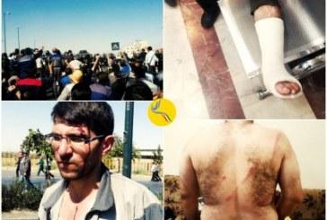 برخورد شدید نیروهای امنیتی با کارگران معترض در اراک؛ ضرب و شتم با باتوم و شلیک هوایی