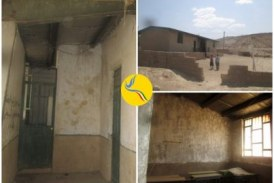 وضعیت بحرانی مدارس در روستای مورخانی دیشموک