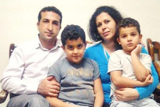 اعتصاب غذای یوسف ندرخانی، زندانی عقیدتی، در اعتراض به وضعیت تعلیقی تحصیل فرزندانش