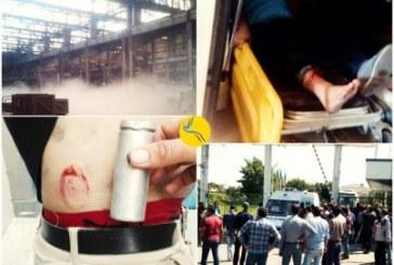 یورش نیروهای امنیتی به کارخانهآذراب و ضرب و شتم کارگران
