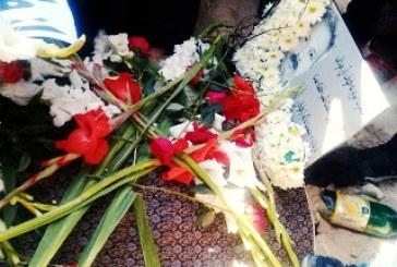 مراسم خاکسپاری محمد جراحی در تبریز برگزار شد/ تصاویر